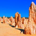 Limestone pinnacles in WA