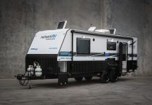 A Network RV Terrain Tuff Off-road caravan